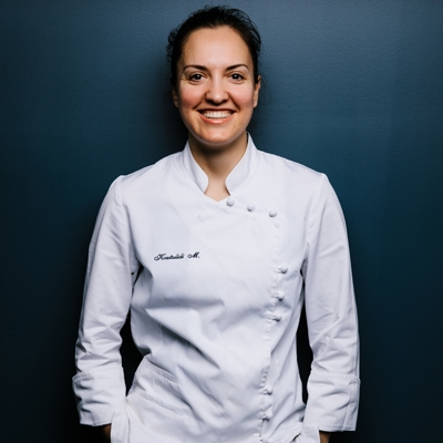 From London's The Fat Duck to Tasmania's Mures Upper Deck, how Chef Markella Koutalidi became hooked by our Apple Isle