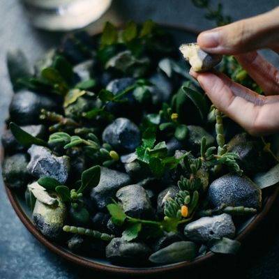 You Need to Make this Epic, Edible Stones Dessert from Vue de monde