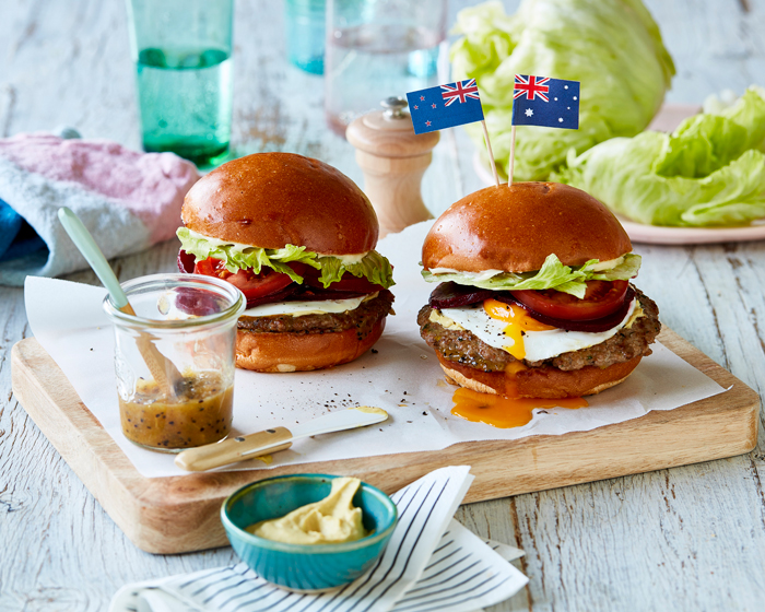 NZ Born Chef, Daniel Wilson of Huxtaburger, brings Two Nations together over Aussie Lamb