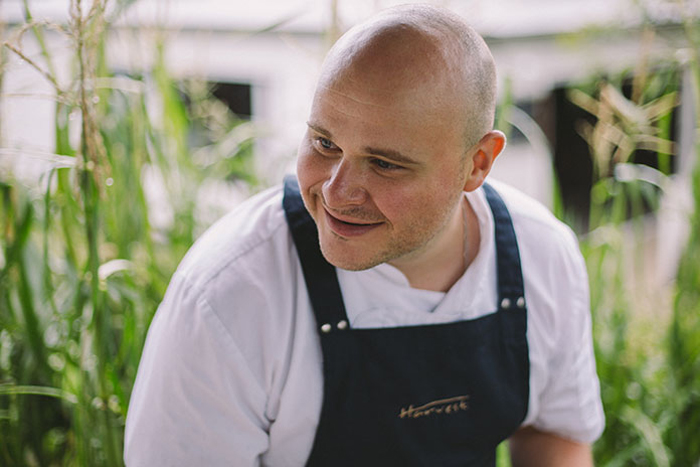 Harvesting from Nature: Alastair Waddell from Harvest Restaurant Shares his Favourite Autumn Recipe