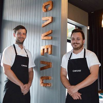 Telling Australia's Story through Food: We Speak with the Caveau Chef Duo