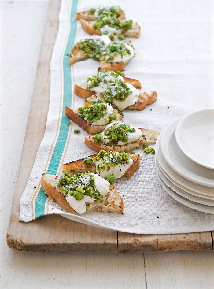 Curtis Stone Keeps it Simple with his Epic Spring Bruschetta Recipe