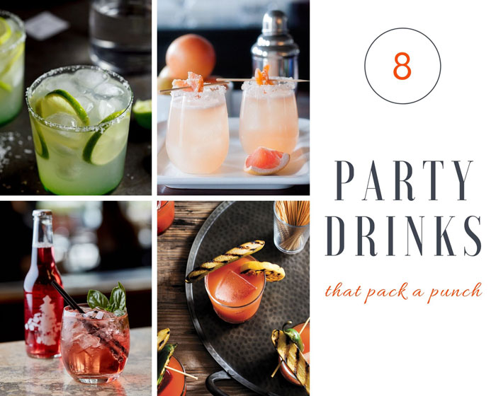 8 Party Drinks that Pack a Punch