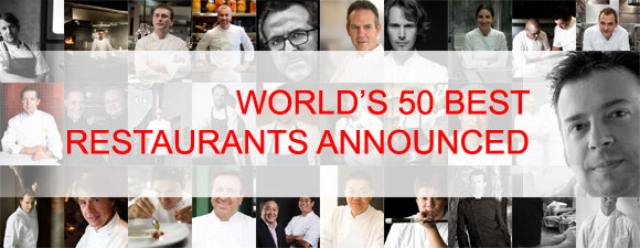 The World's 50 Best Restaurants 2012 Announced