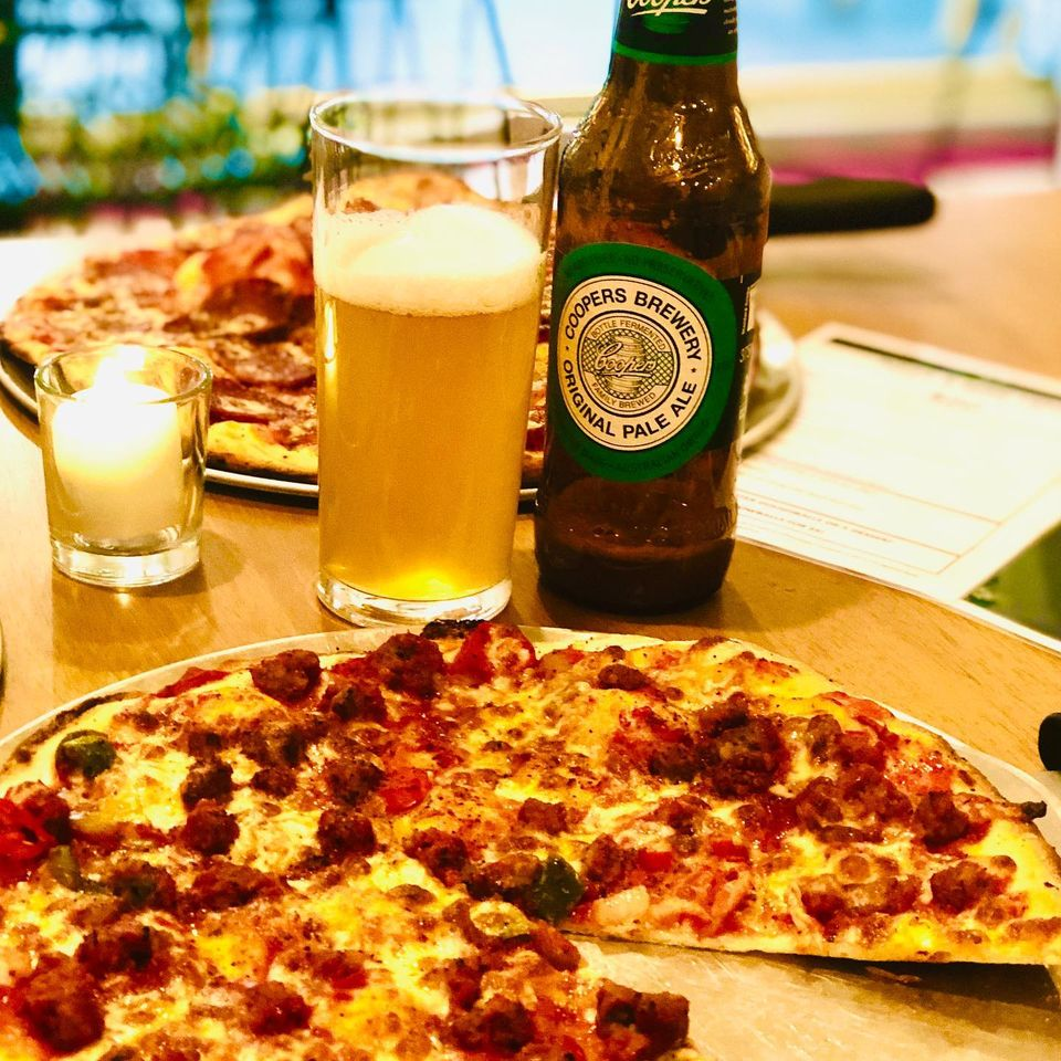 What Do Homer Simpson, Beer and Pizza Have in Common? Doh - Let's Celebrate International Pizza and Beer Day.