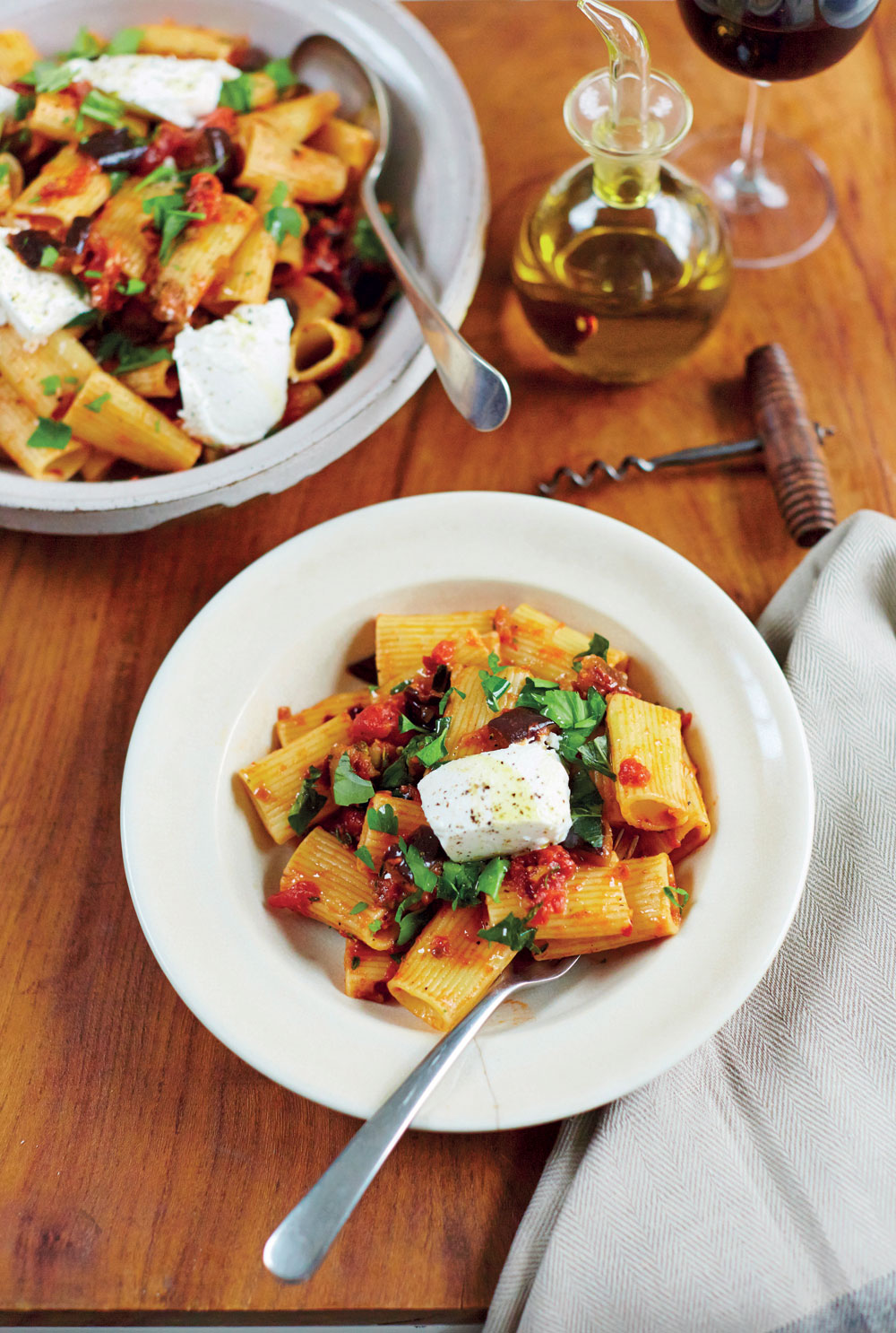 Lighta Pasta Makes You Run Fasta – Five Summer Pasta Recipes to Try at Home.