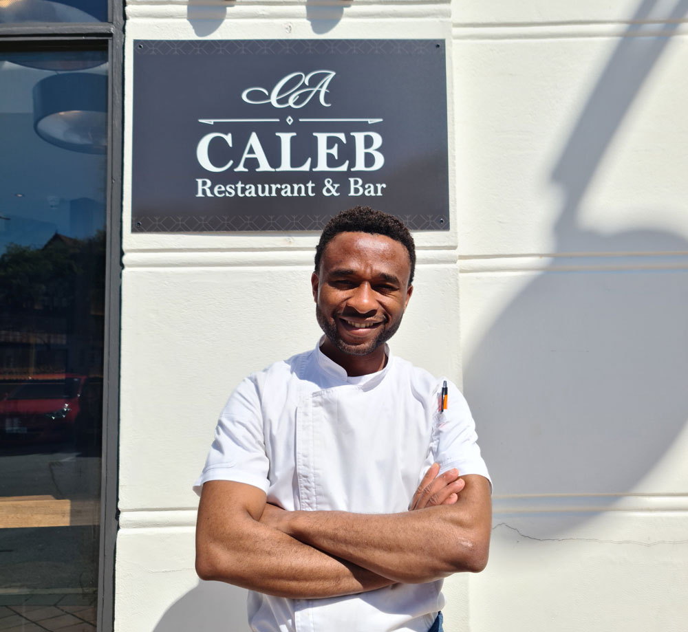 You Can Take the Boy Out of Africa, but Not Africa Out of the Boy! We talk to Caleb Azuka on International Chef Day.