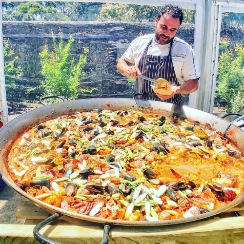 Say Hola to National Paella Day with This Miguel Maestre Recipe.