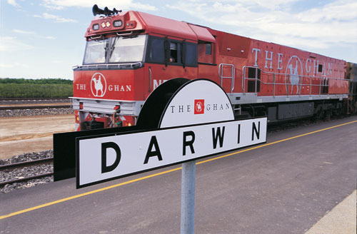 Rail Journeys in the Northern Territory