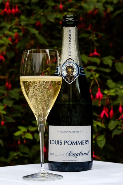 Taste Centuries of Expertise with Louis Pommery's First English Sparkling Wine by a Major Champagne House.