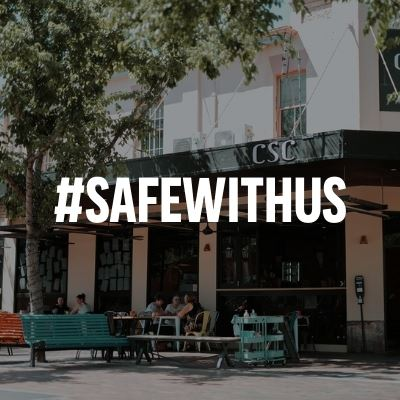 Safe With Us – Rally Around These Restaurants in Their Fight Against COVID Naming and Shaming.