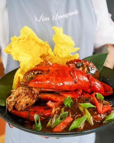 Talking Truffles - Try this Chilli Truffle Crab Recipe from Miss Moneypenny's.