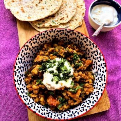 Full of Beans - Alimentary's Lockdown Vegetarian Curry.