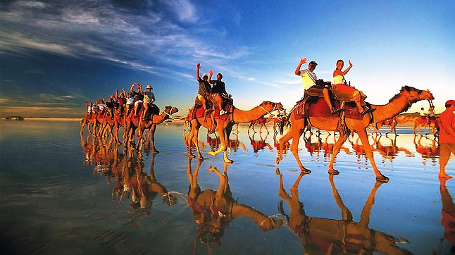 Camel Riding in Australia