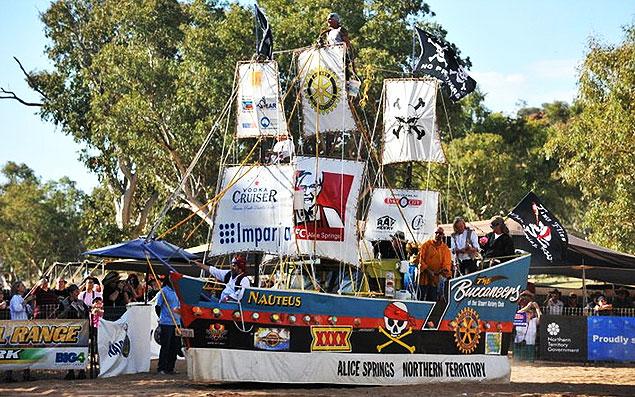 Annual Regatta in Alice Springs