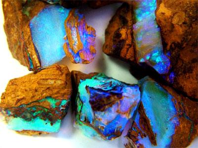 Opal Fossicking in Australia