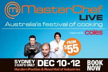 MasterChef Live Sydney December 2010