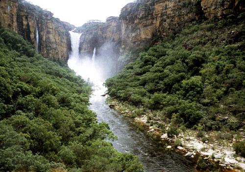Waterfalls in the Northern Territory