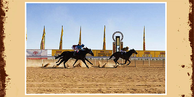 Birdsville Races in Outback Queensland