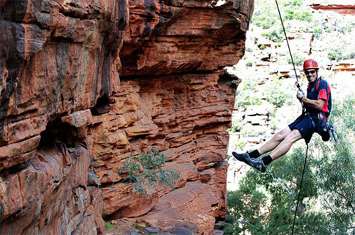 Abseiling in Australia
