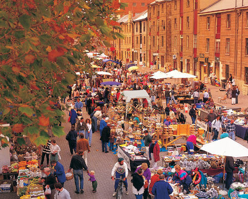 Markets in Tasmania