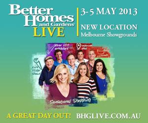 Better Homes & Gardens LIVE - AGFG Member Discount