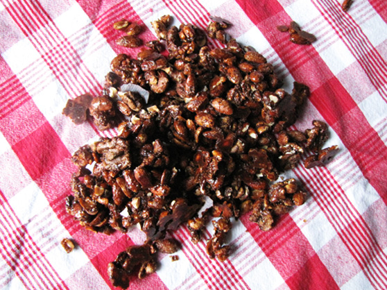 Sugar + Spice Nuts; The Frosted Vegan