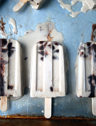 Irish Creme Fudgesicles; The Frosted Vegan