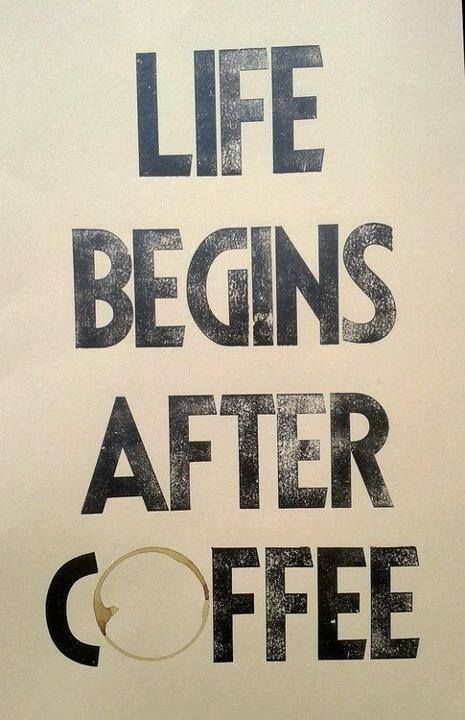 Coffee: The Most Important Meal of the Day