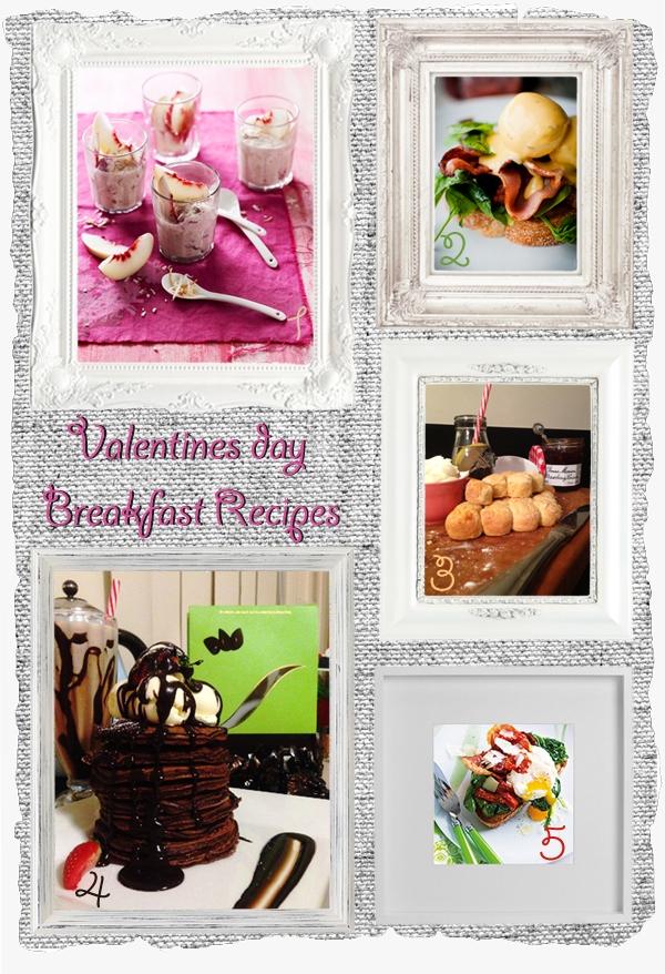 5 Delicious Valentine's Day Breakfasts