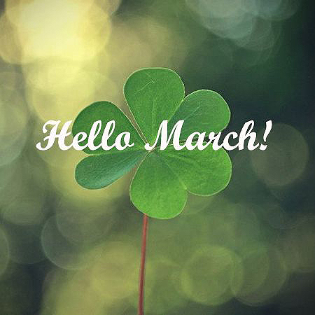 March - What's Coming Up