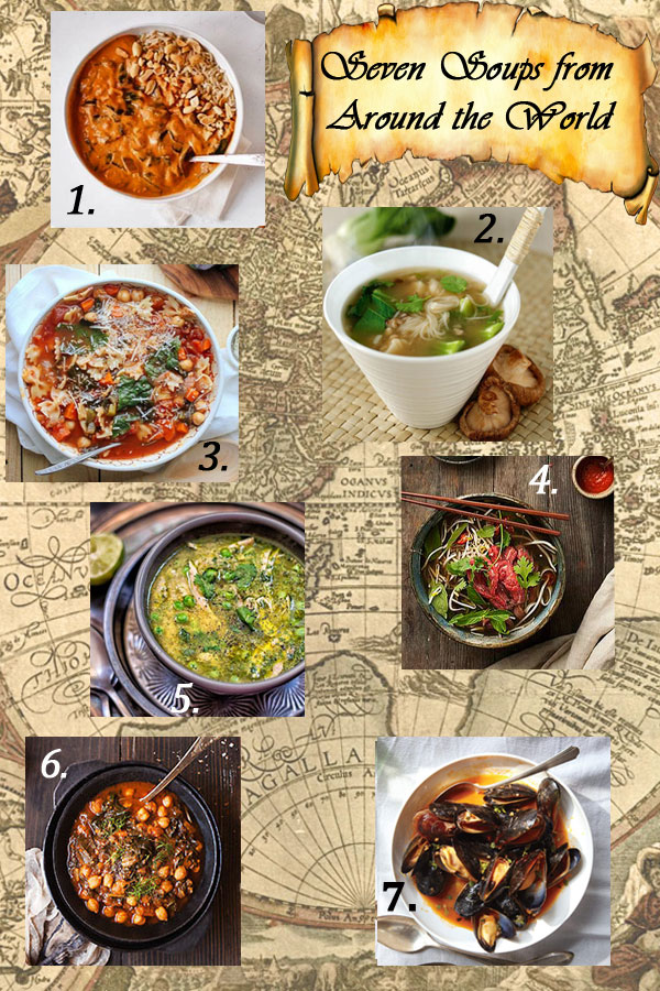 Seven Soups from around the World