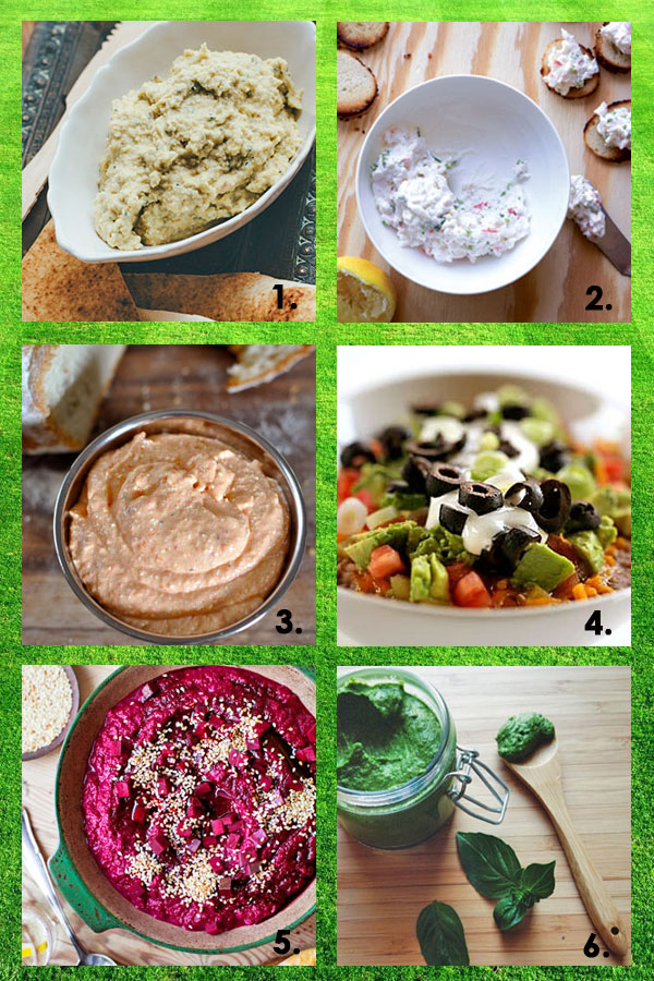 Six Delicious Dips for your Crowd