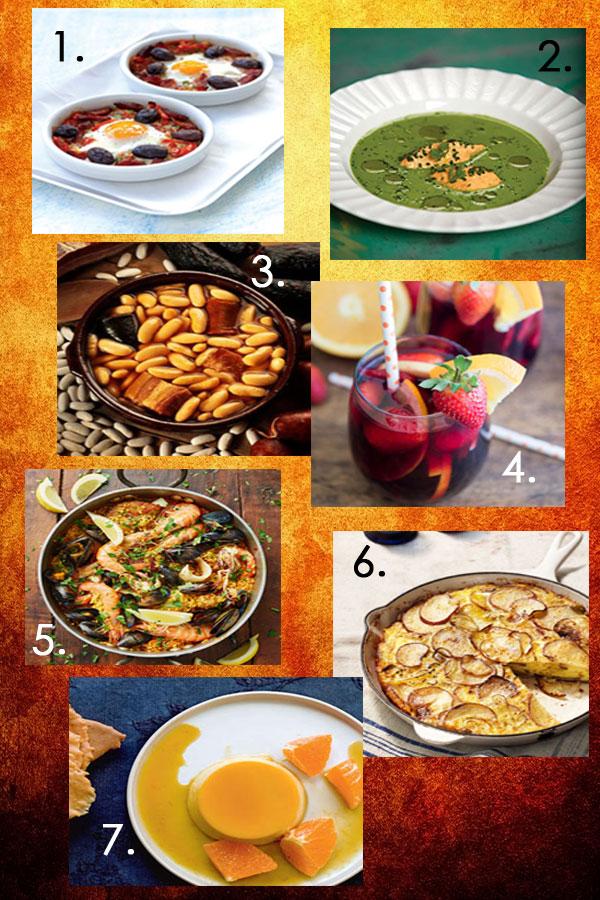 Seven Delicious Spanish Recipes