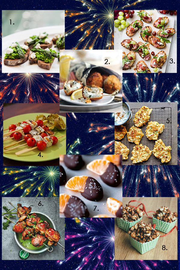 Fancy and Fun NYE Finger Foods