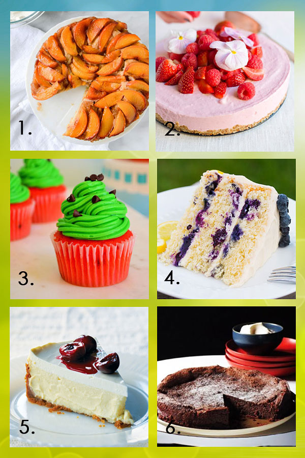 Our Favourite Cakes for Summer