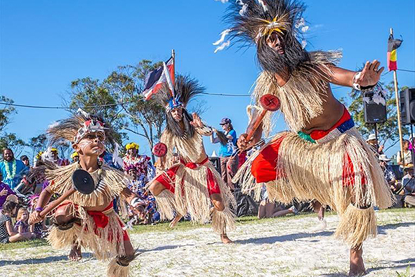 Blues Meets Indigenous Culture at Boomerang