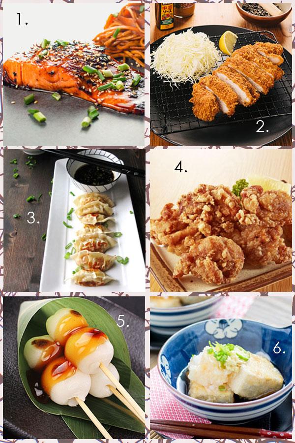 Six Fabulously Fast Japanese Recipes