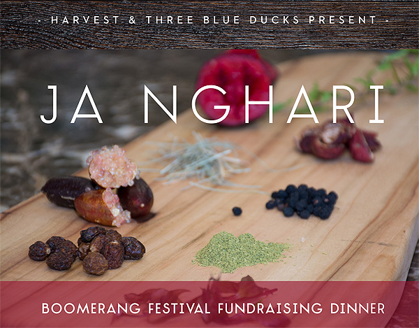 Harvest Cafe and Three Blue Ducks come together for Boomerang