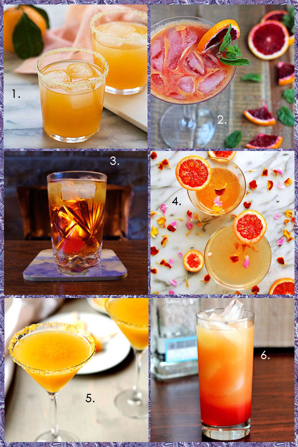 Orange Cocktail Inspiration