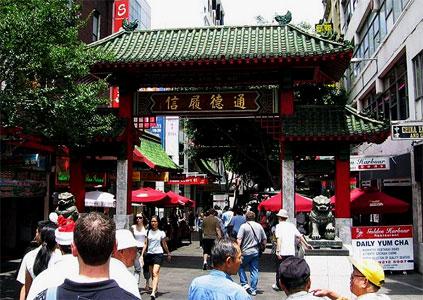 Chinatown in Australia