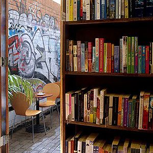 Sappho Books ,Cafe & Wine Bar