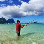 Fishing on Lord Howe Island