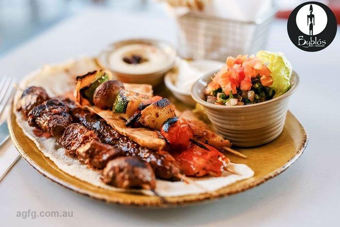 Byblos bar restaurant hamilton restaurants dining qld for Australian cuisine brisbane