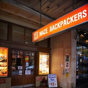 Maze Backpackers Sydney