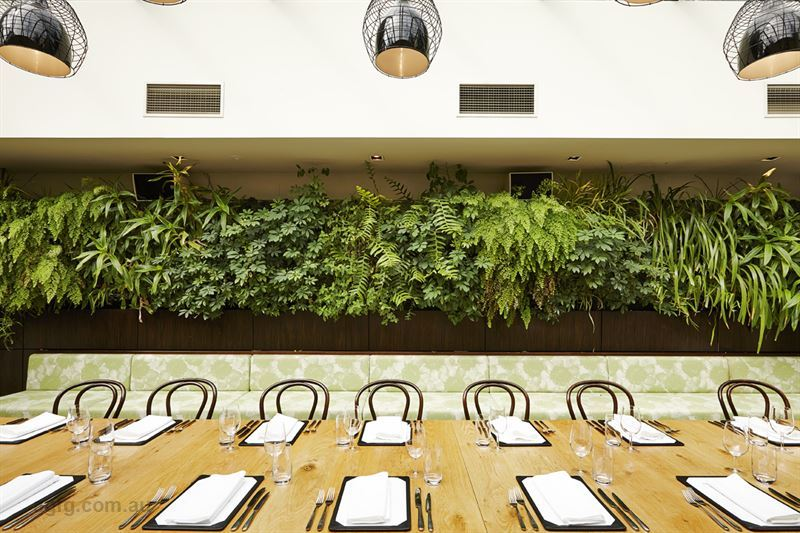 The botanical dining room