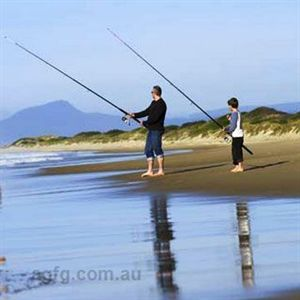 Fishing in East Coast Tasmania