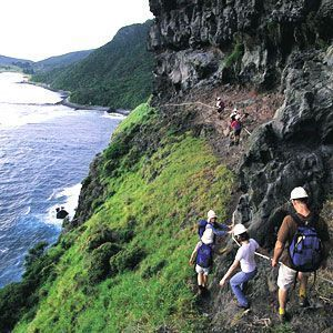 Hiking on Lord Howe Island