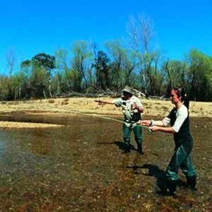 Fishing in Victorian High Country