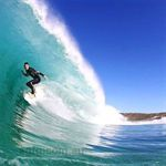 Surfing on the Yorke Peninsula